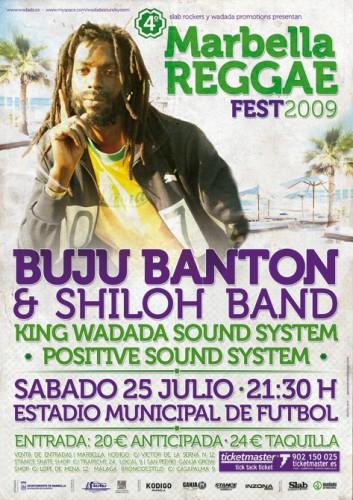 Cartel IV Festival Marbella Reggae
