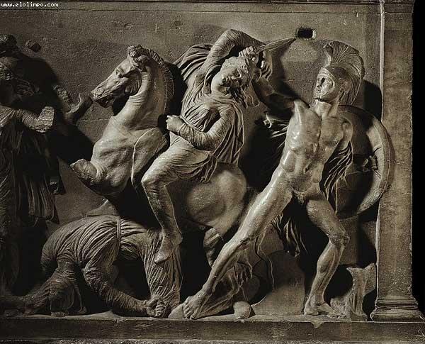 El mito de las amazonas for En la mitologia griega la reina de las amazonas