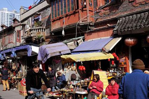 El mercado de antig edades dongtai lu en shanghai - Mercado antiguedades barcelona ...