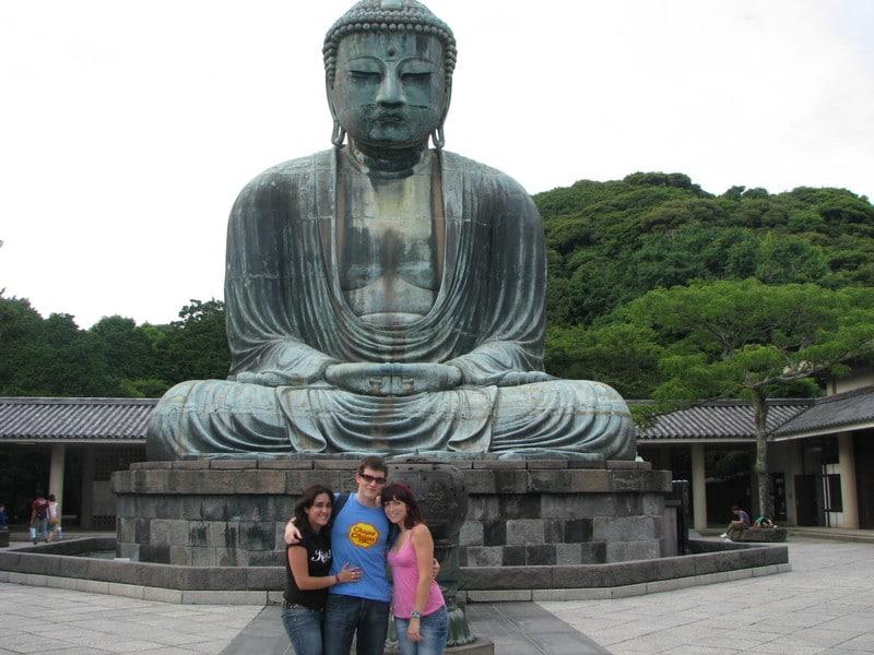 La gran estatua de Buda Amitabha en Kamakura
