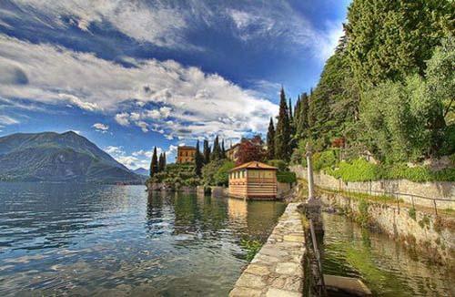 lago di como El romántico Lado de Como