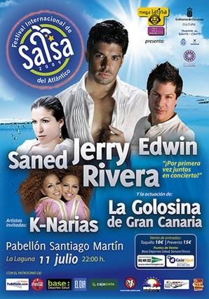 Cartel Festival Salsa 2009