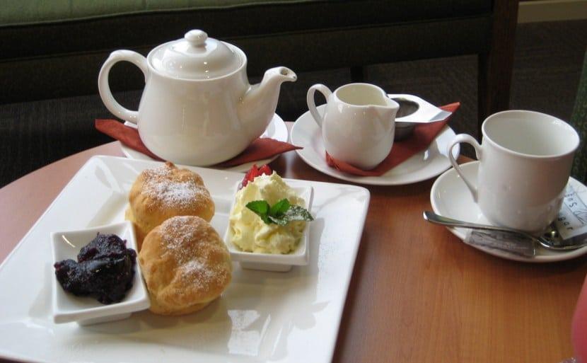 El típico té inglés