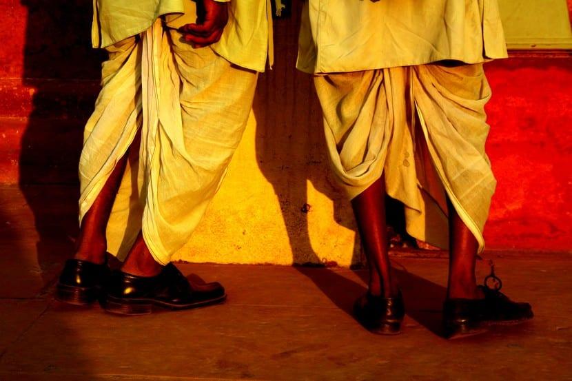 Dhoti, vestido hindú de la India