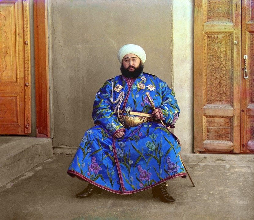 Khalat, otra ropa hindú para hombre
