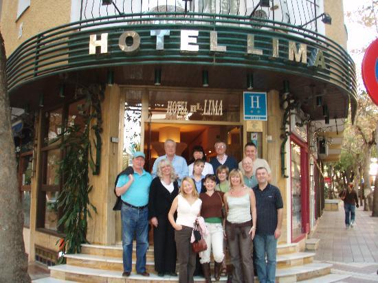 Entrada Hotel Lima de Marbella