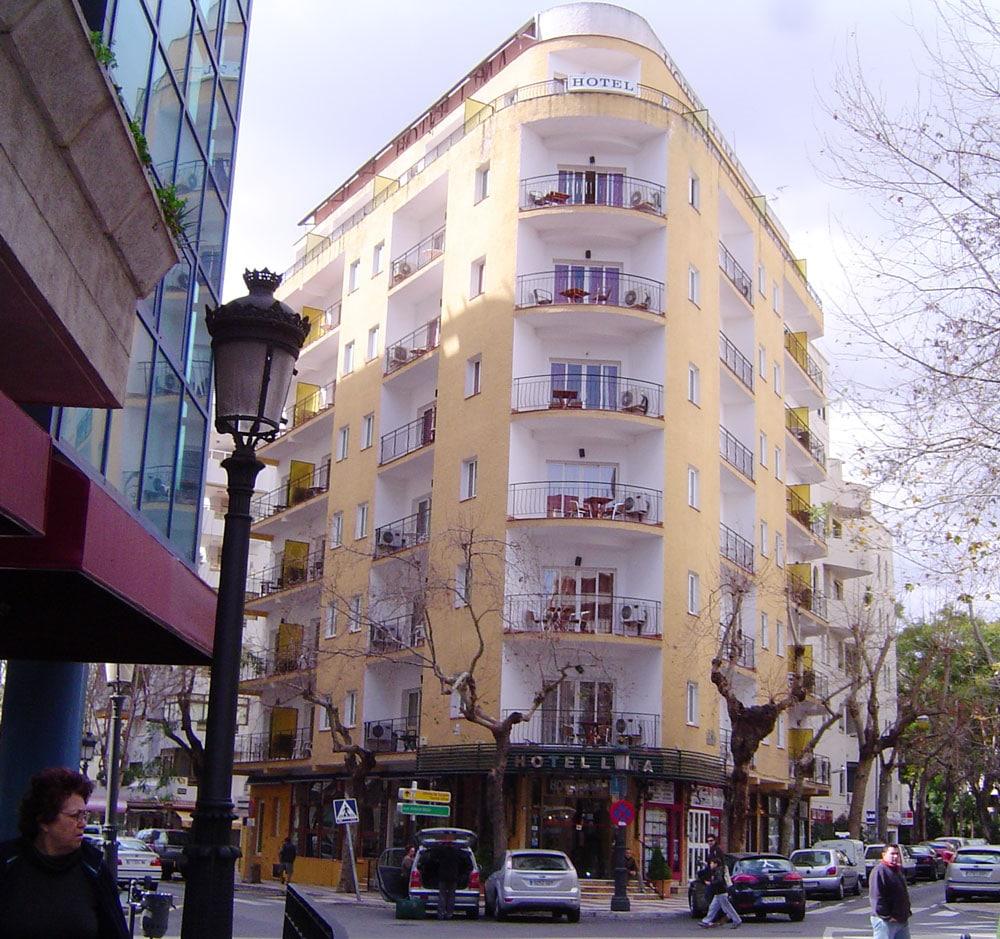 Vista General del Hotel Lima de Marbella