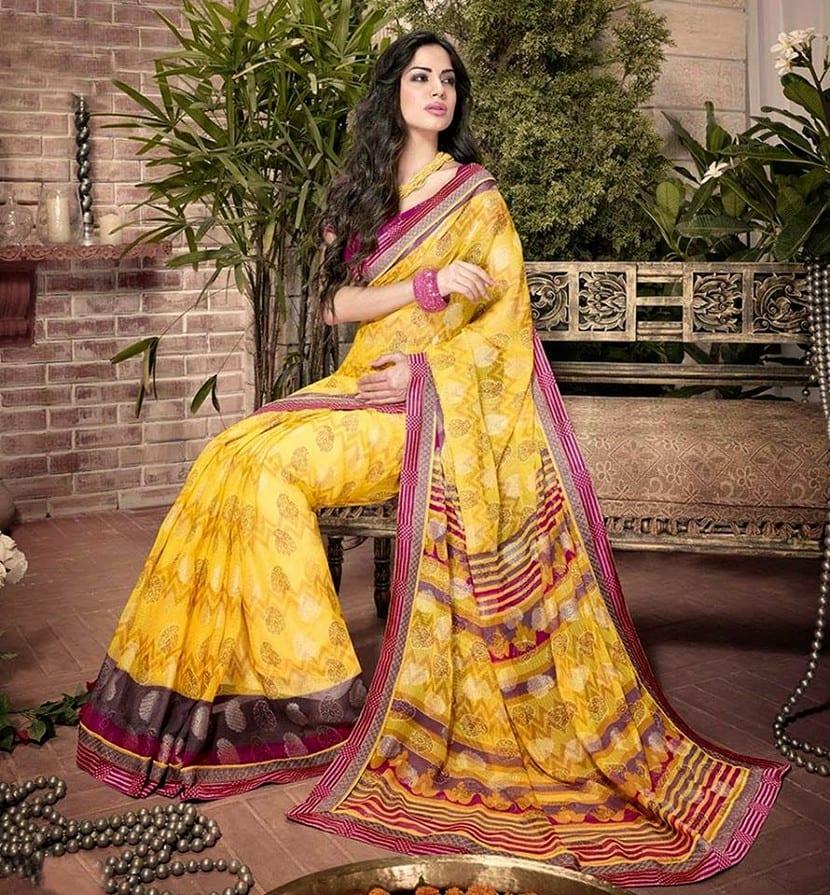 Peikot típico vestido hindú
