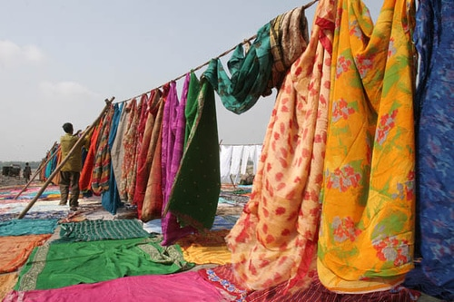 ropa2 Vestimenta de la India