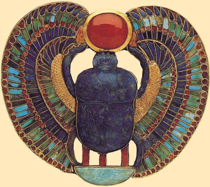 el-simbolo-del-escarabajo-alado-de-tutankhamon