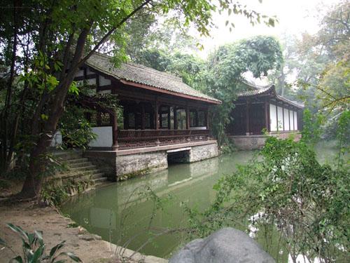 DuFu1 La Cabaña de Dufu, el gran poeta chino