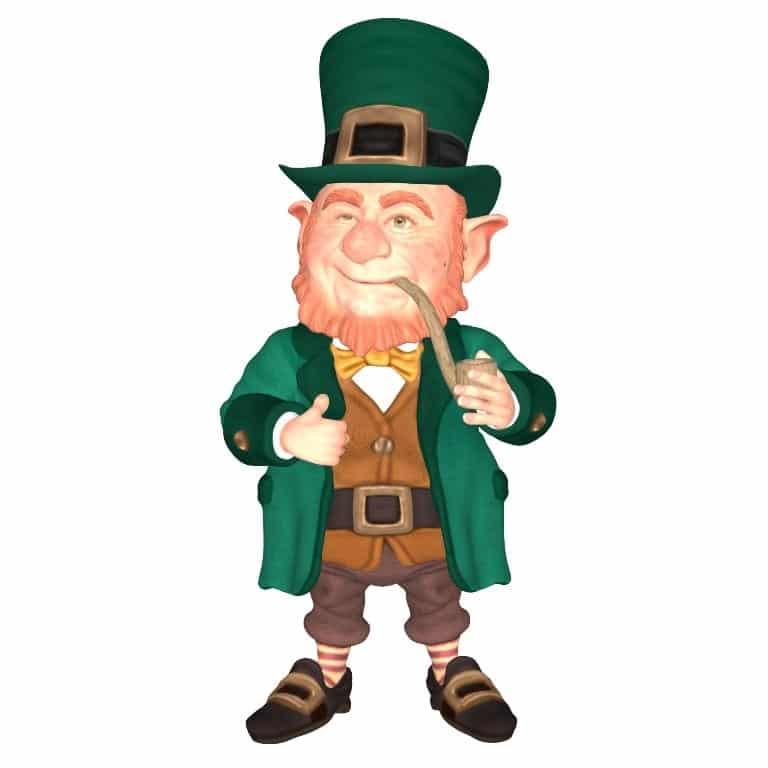 Leprechaun irlandés