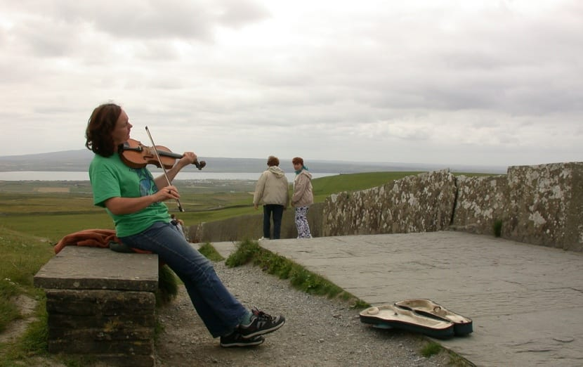 músico irlandés