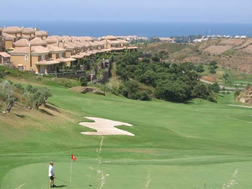 Campo de Golf de Santa Clara en Marbella