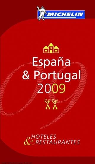 Guía Michelín 2009 de España y Portugal