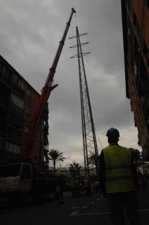 Desmantelamiento Torreta de la Patera en Marbella