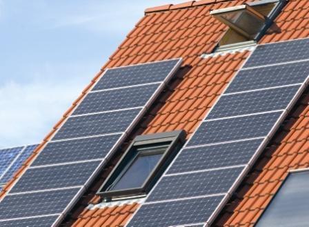 Placas solares en tejados