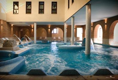 Spa del Hotel Villa Padierna