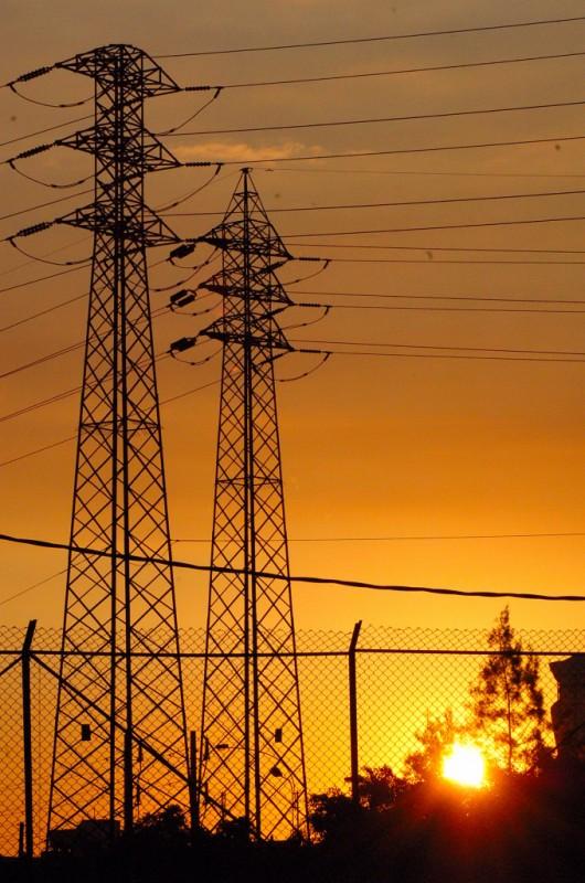 El tendido eléctrico de alta tensión, historia en el casco urbano de Marbella
