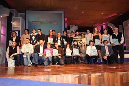 Los Premiados en la Gala del Deporte 2009 en Marbella