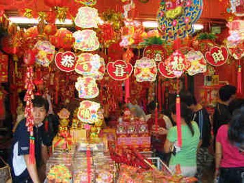 Las decoraciones tradicionales en el a o nuevo for Decoracion china para casas