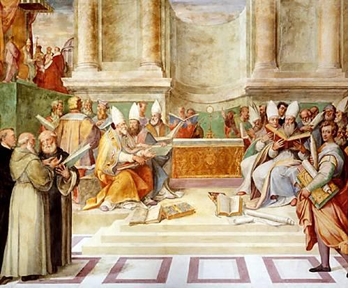 El Concilio de Trento supuso un importante cambio en la confección grabados navideños