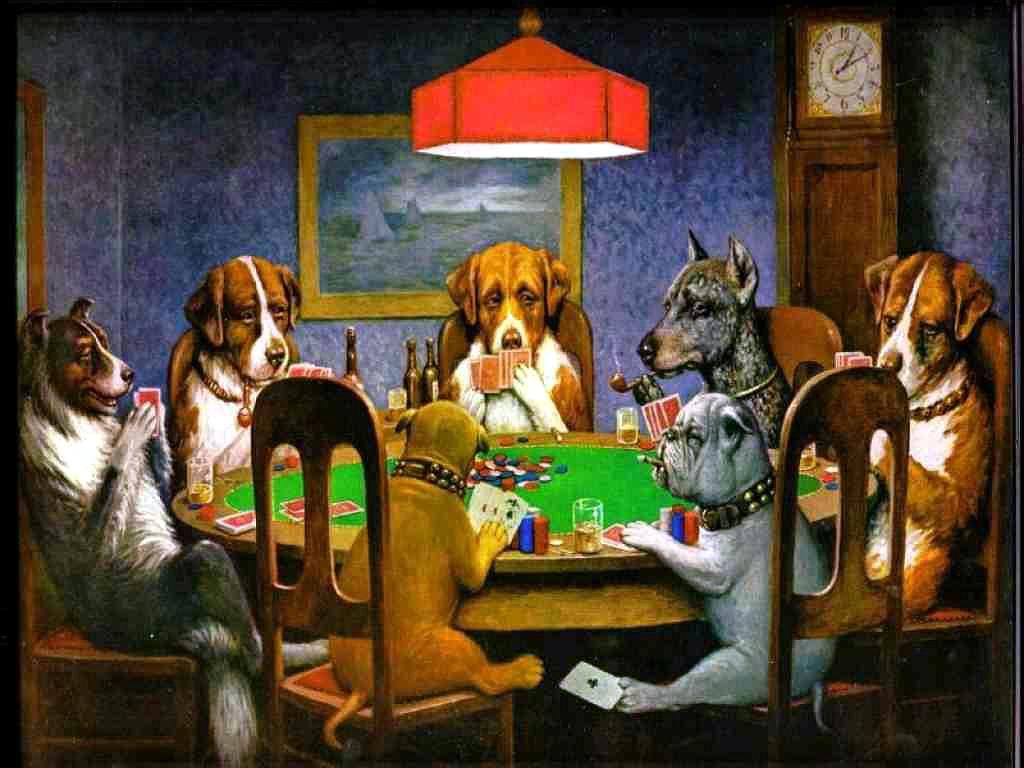 Caricatura poker