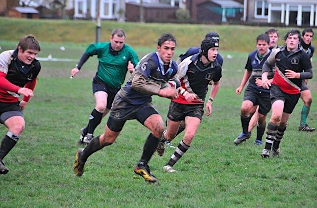 Equipo Rugby cadete del Marbella