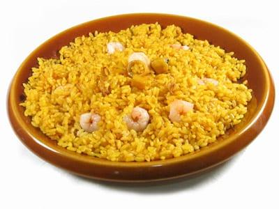 arroz azafran