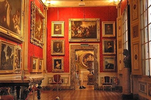 palazzo pitti interior