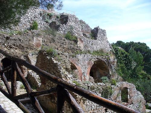 villa jovis 1 Villa Jovis, el palacio de Tiberio en Capri