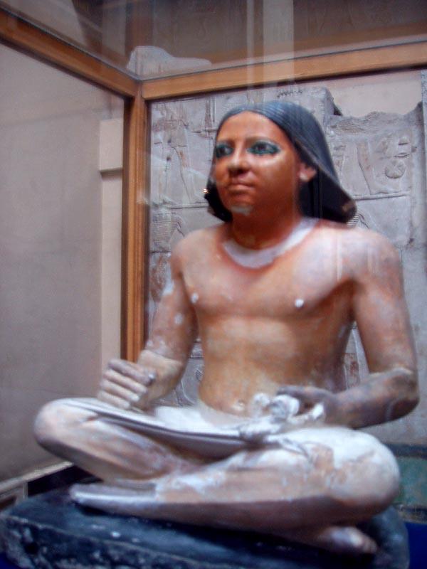 El monumento del Escriba Sentado