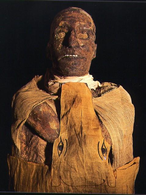 La magnífica Sala de las Momias reales