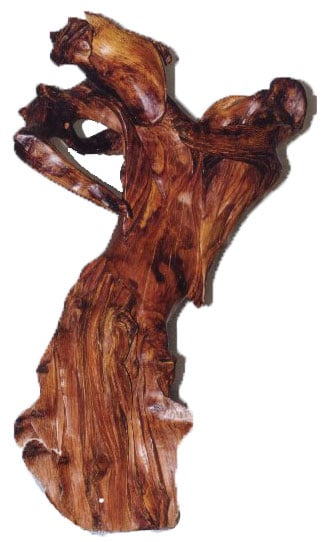 Las artesanías noruegas en madera