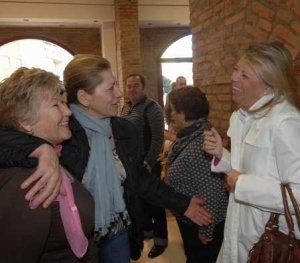 La Alcaldesa a su llegada al Centro de Mayores Plaza de Toros de Marbella