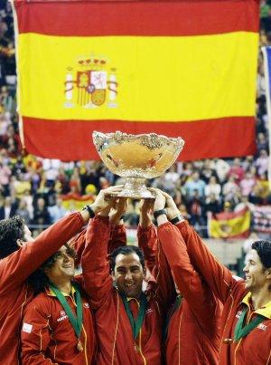 España se alza con la Copa Davis en la Final de Barcelona de 2009