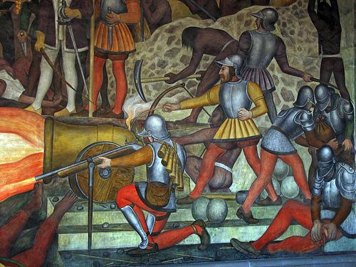 Paseos culturales el 23 de enero for Un mural de diego rivera