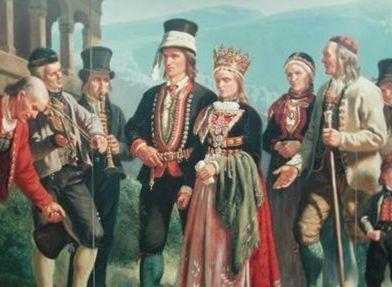 Adolph Tiedeman La pintura en la época del romanticismo en Noruega