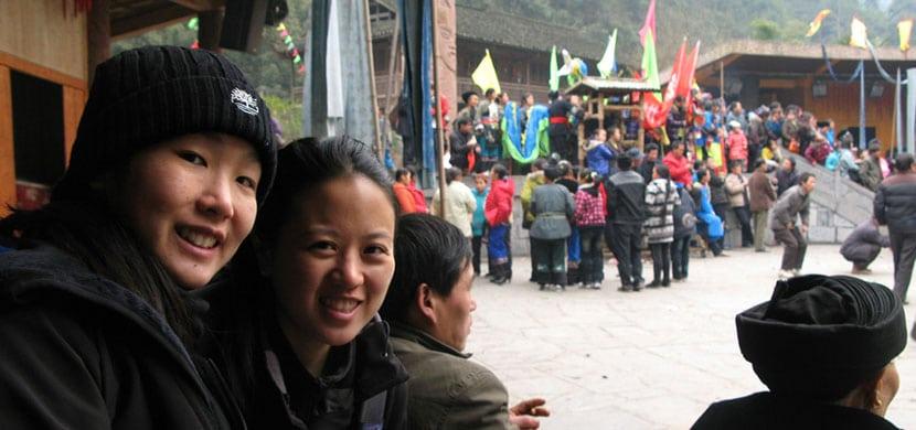 amigos en China