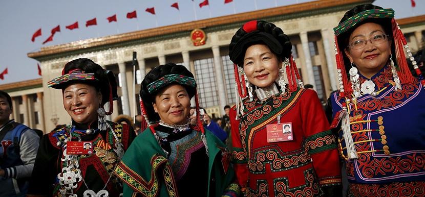 etnia típica china
