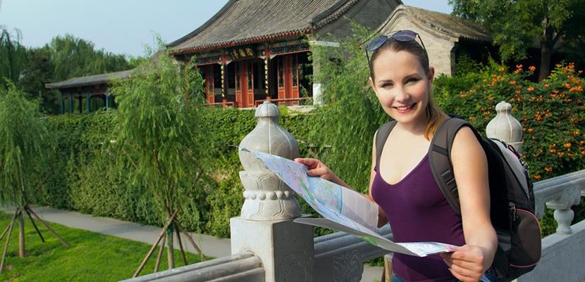turista en China