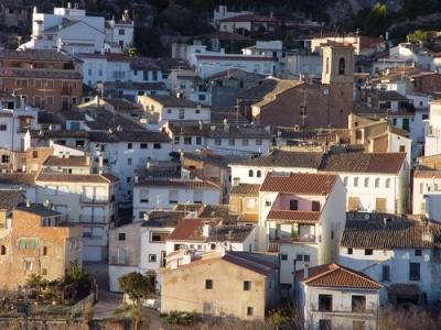 Vista de la localidad de Algimia de Almonacid