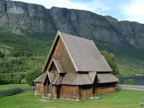 La arquitectura de madera en noruega for Arquitectura de madera