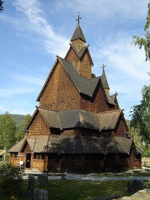 iglesia heddal La iglesia de madera de Heddal