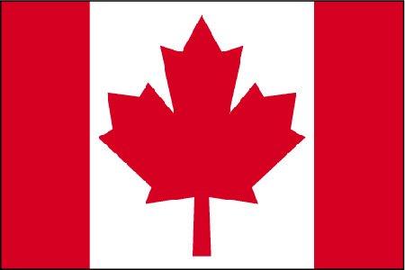 Camino a Canadá  Bandera-canada