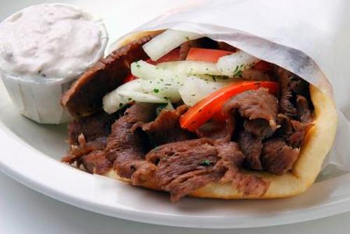 King Gyros Comida típica de Grecia