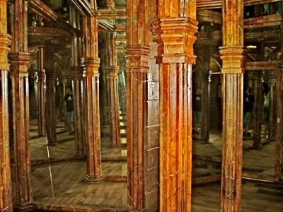 Laberinto de espejos en Petrin
