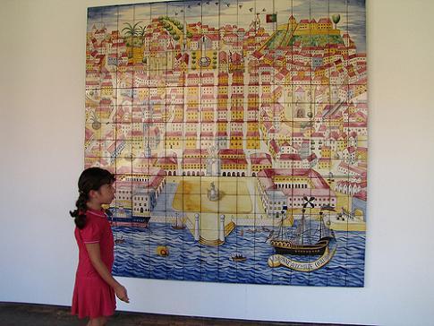 El museo de los azulejos en lisboa ii for El mundo de los azulejos