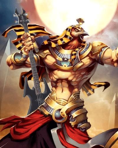 Algunos de los dioses más importantes del antiguo Egipto