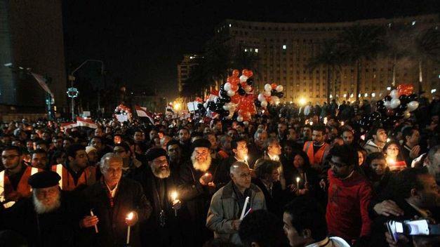Celebrando el Año Nuevo en El Cairo